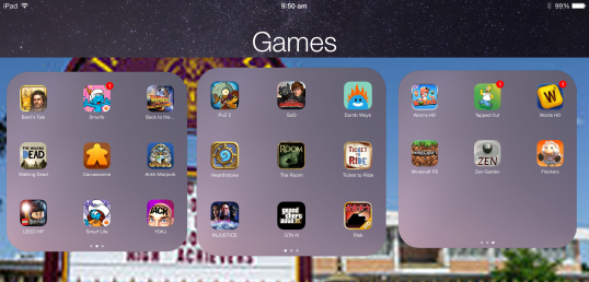 games-screen